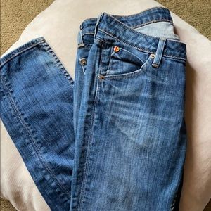 Hudson Jeans Skinny High Rise Ankle Jeans Size 27